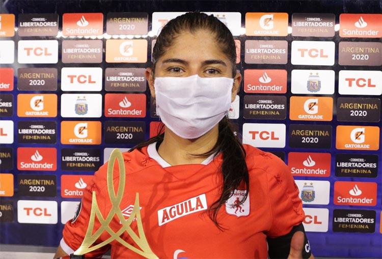 ¿Catalina Usme es la mejor jugadora de la Libertadores Femenina 2020?