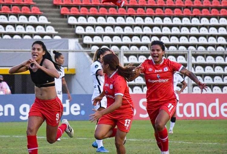 Joemar Guarecuco y el gol de la locura para América de Cali en la Libertadores Femenina