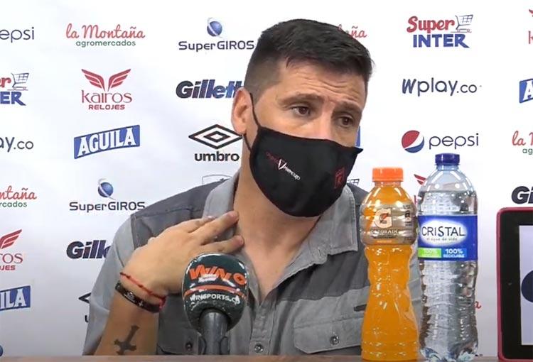 ¿Qué dijo Juan Cruz Real de los goles anulados a América y el clásico ante Deportivo Cali?