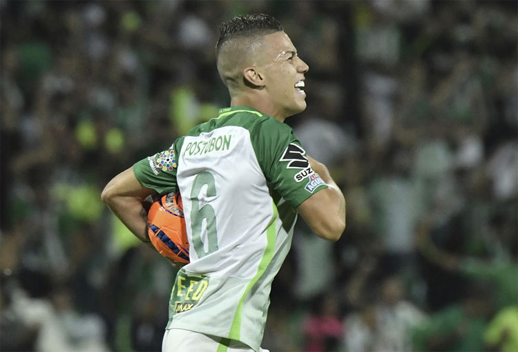 """Matheus Uribe: """"Me encantaría volver a Atlético Nacional, es el equipo de mis amores"""""""