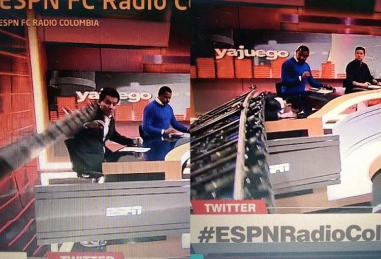 Iván Valenciano, Carlos Orduz y un parte de tranquilidad tras el accidente en ESPN