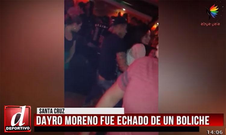 Prensa boliviana sobre el escándalo con Dayro Moreno y la investigación de Oriente Petrolero