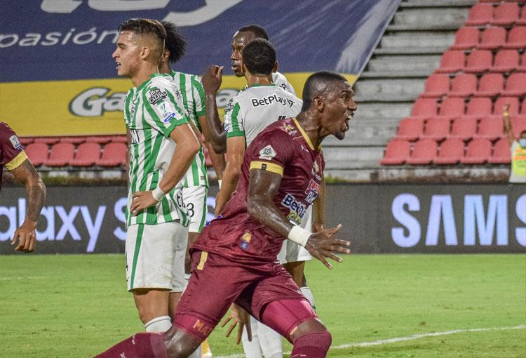 Un triunfo más y ahora así va la impresionante racha de Deportes Tolima sobre Atlético Nacional