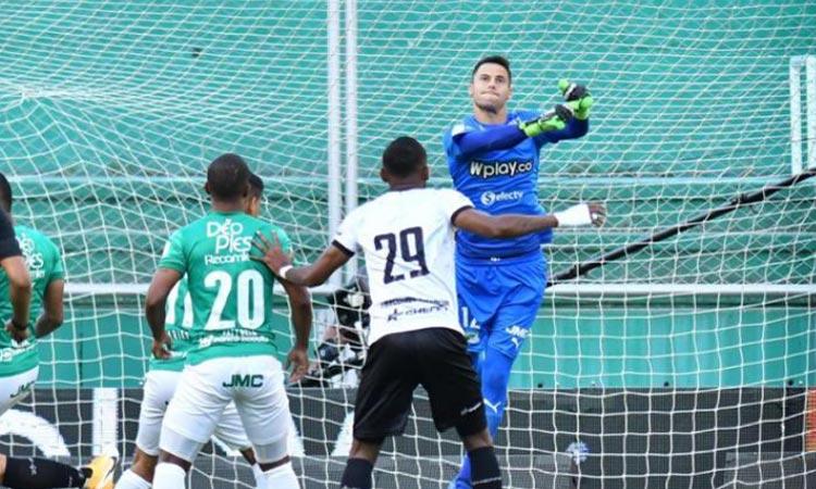 Guillermo de Amores en Deportivo Cali: 13 partidos y 6 arcos en cero