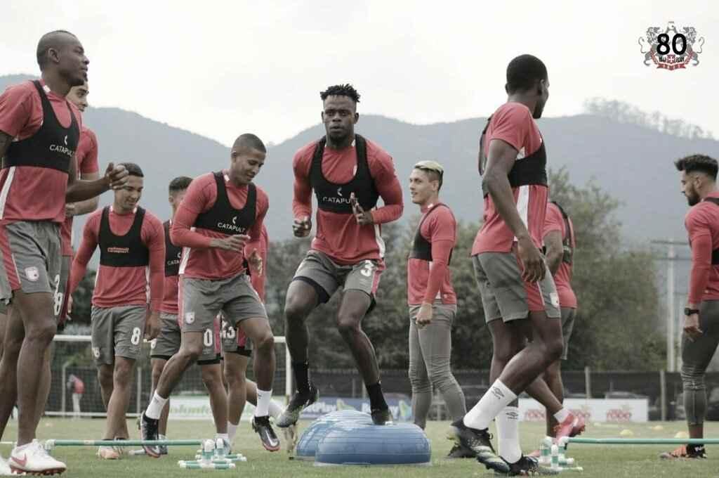 Santa Fe confirmó la baja de tres jugadores por lesión para enfrentar a Deportivo Pasto