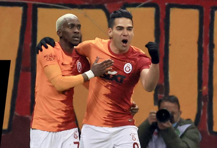 Falcao García y lo que dijo tras su cuarto doblete en Galatasaray