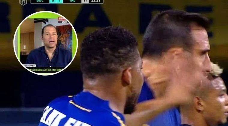 Óscar Córdoba y la fuerte Crítica a Frank Fabra por su comportamiento en Boca Juniors