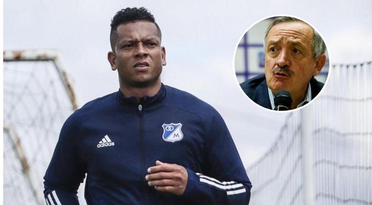 Lo que dijo el presidente de Millonarios sobre la posible renuncia de Fredy Guarín