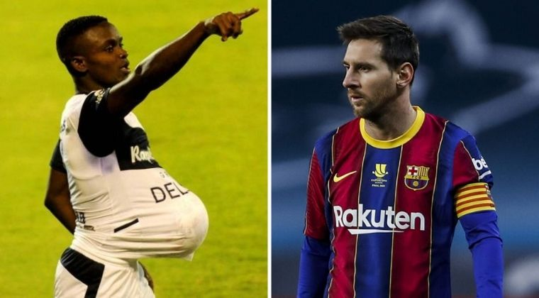 La respuesta de Johan Carbonero al saber que es comparado con Lionel Messi en Argentina