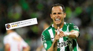 El nuevo guiño del 'Lobo' Guerra a Atlético Nacional