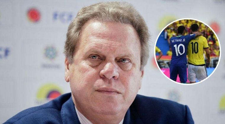 ¿Dónde y cuándo se jugaría Colombia vs. Brasil por Eliminatorias?: Jesurún explicó