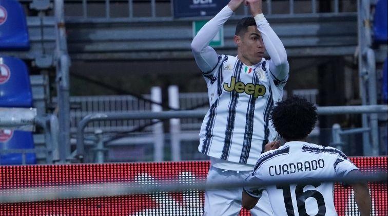 Se desquitó CR7 con un triplete y asistencia de Cuadrado en la victoria de Juventus vs. Cagliari