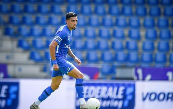 ¡Primer gol de Daniel Muñoz en Europa con el KRC Genk!