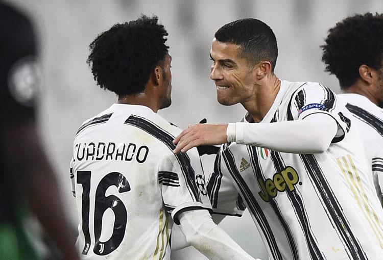 Diario italiano aseguró que Cuadrado es el mejor de la Juve junto a Cristiano