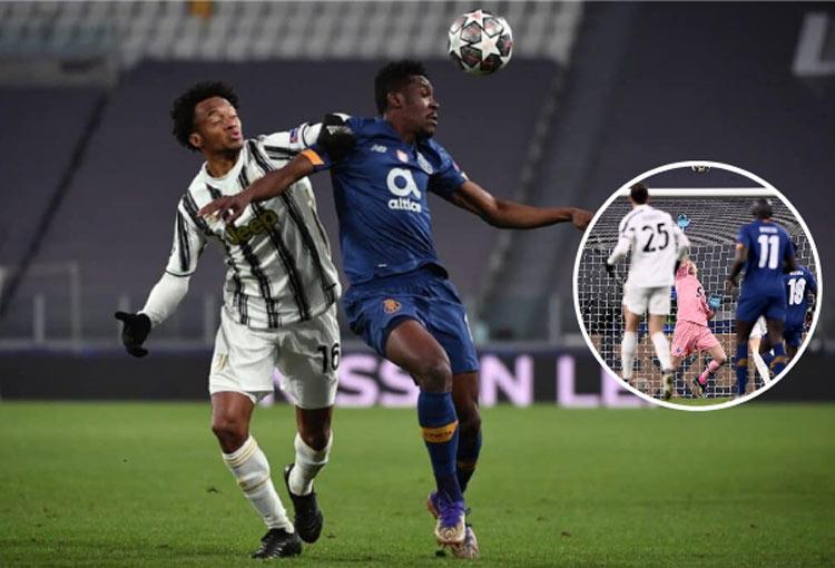La jugada de Cuadrado que pudo cambiar la suerte de Juventus en Champions