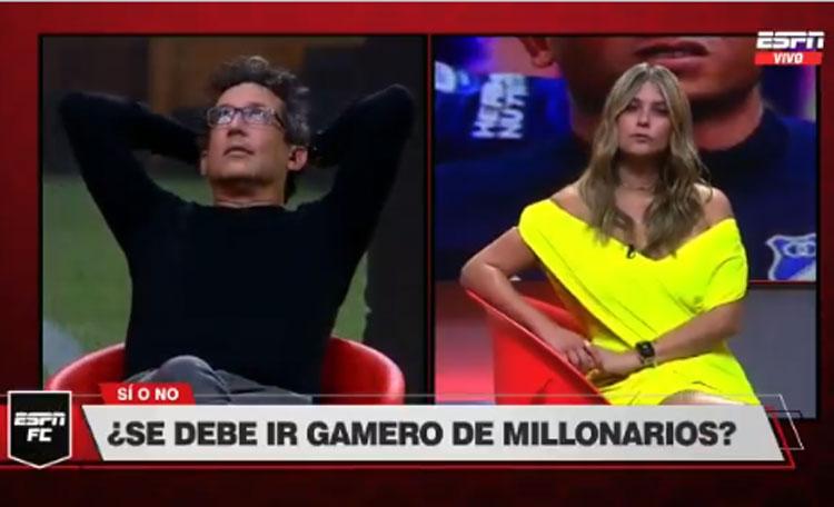 Andrea Guerrero y Antonio Casale, tendencia por Millonarios y Alberto Gamero