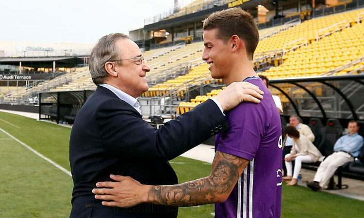 ¡James Rodríguez se sinceró y rechazó la Superliga europea!