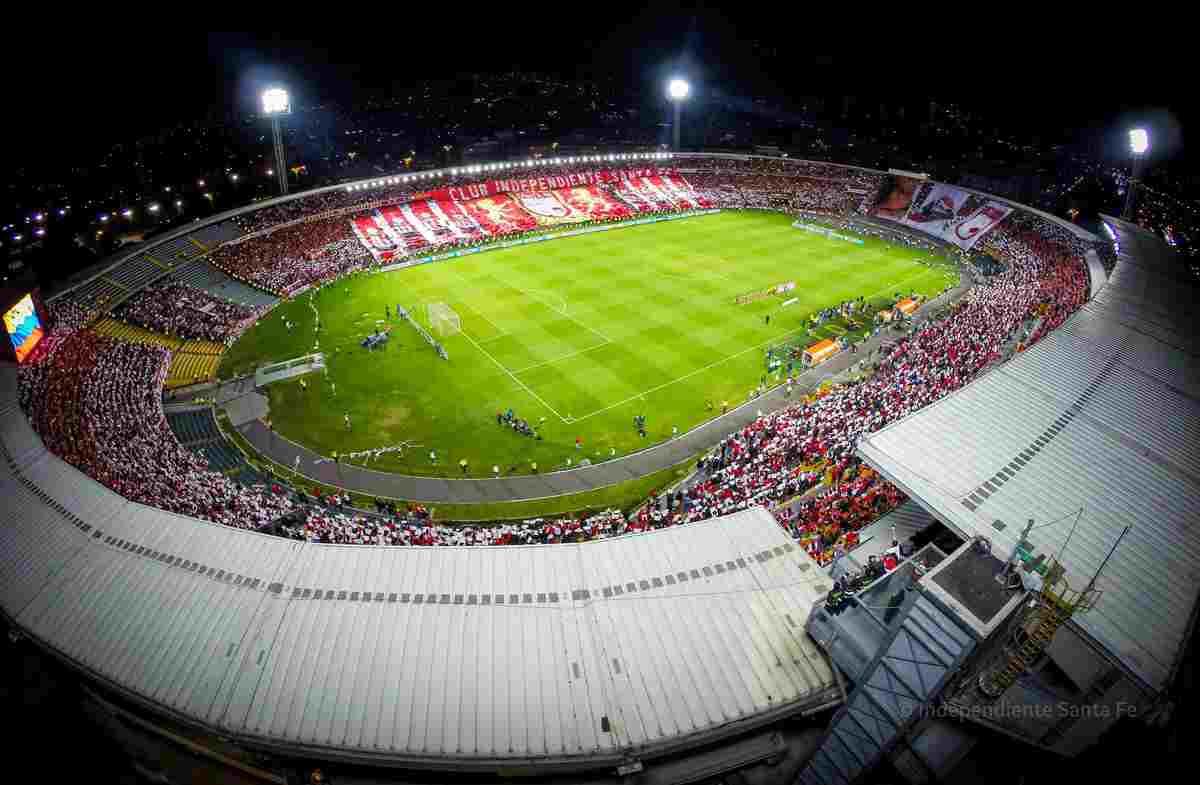 ¡Santa Fe ya consiguió estadio para la Copa Libertadores tras arreglos en El Campín!