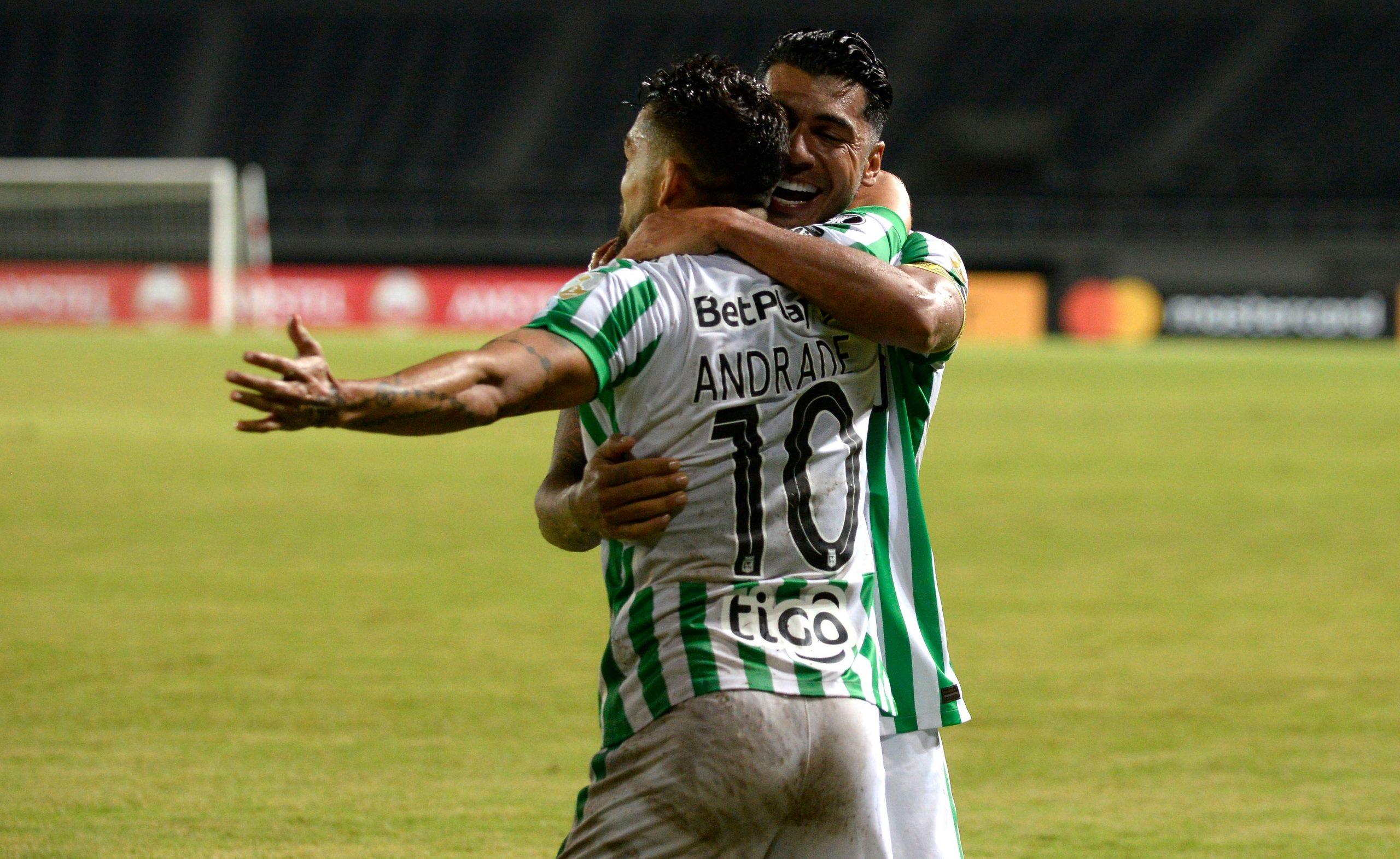 Nacional sacó ventaja y es colíder del grupo F en Copa Libertadores