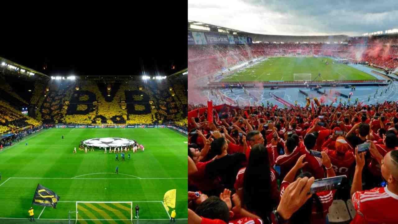 Adrián Ramos y su comparación entre la hinchada del Dortmund y la del América