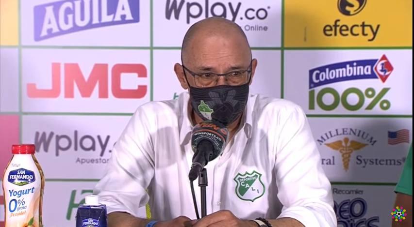Alfredo Arias y su sentimiento de felicidad por la clasificación del Deportivo Cali