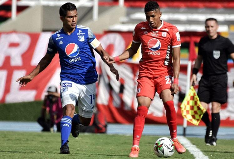 América de Cali, Millonarios FC, Liga BetPlay 2021-I