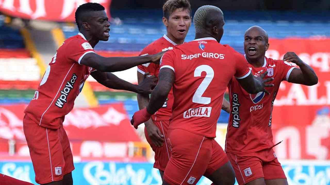 América de Cali en abril definición en la Liga BetPlay y debut en Copa Libertadores