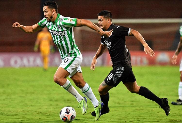 Andrés 'Rifle' Andrade, Copa Libertadores 2021, Atlético Nacional, Club Libertad