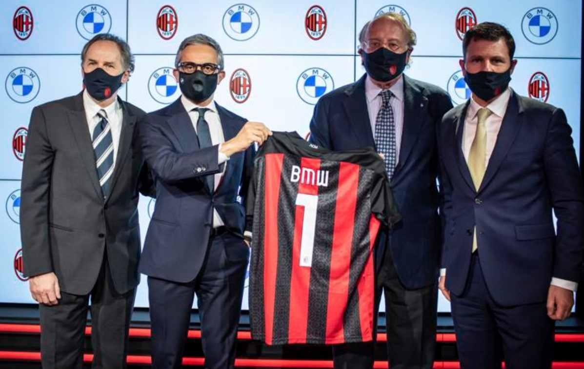 BMW es el nuevo patrocinador del AC Milan