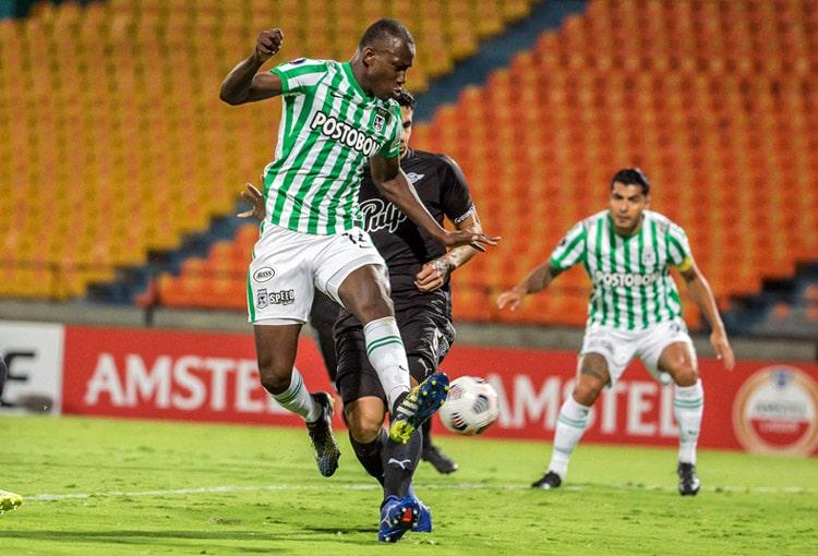 Baldomero Perlaza, Copa Libertadores 2021, Atlético Nacional, Club Libertad