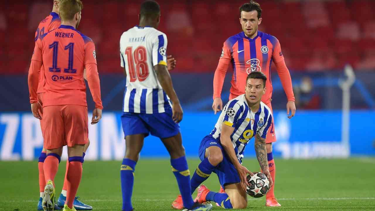 Chelsea sacó ventaja en la ida ante el Porto de Luis Díaz y Matheus Uribe
