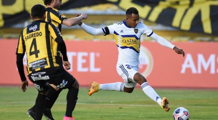 Copa Libertadores: ¡Gol de Sebastián Villa para el triunfo de Boca Juniors ante The Strongest!