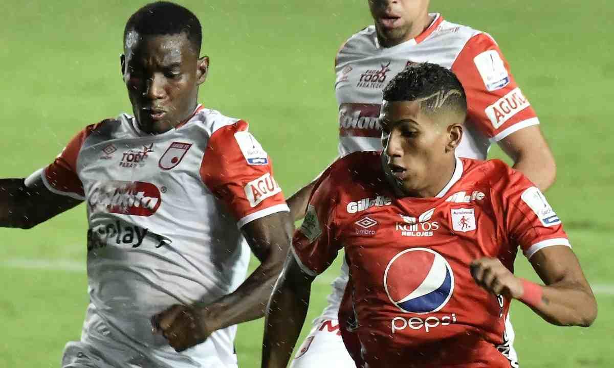 Copa Libertadores ¿Por qué Santa Fe está en el bombo 2 y América de Cali en el 3