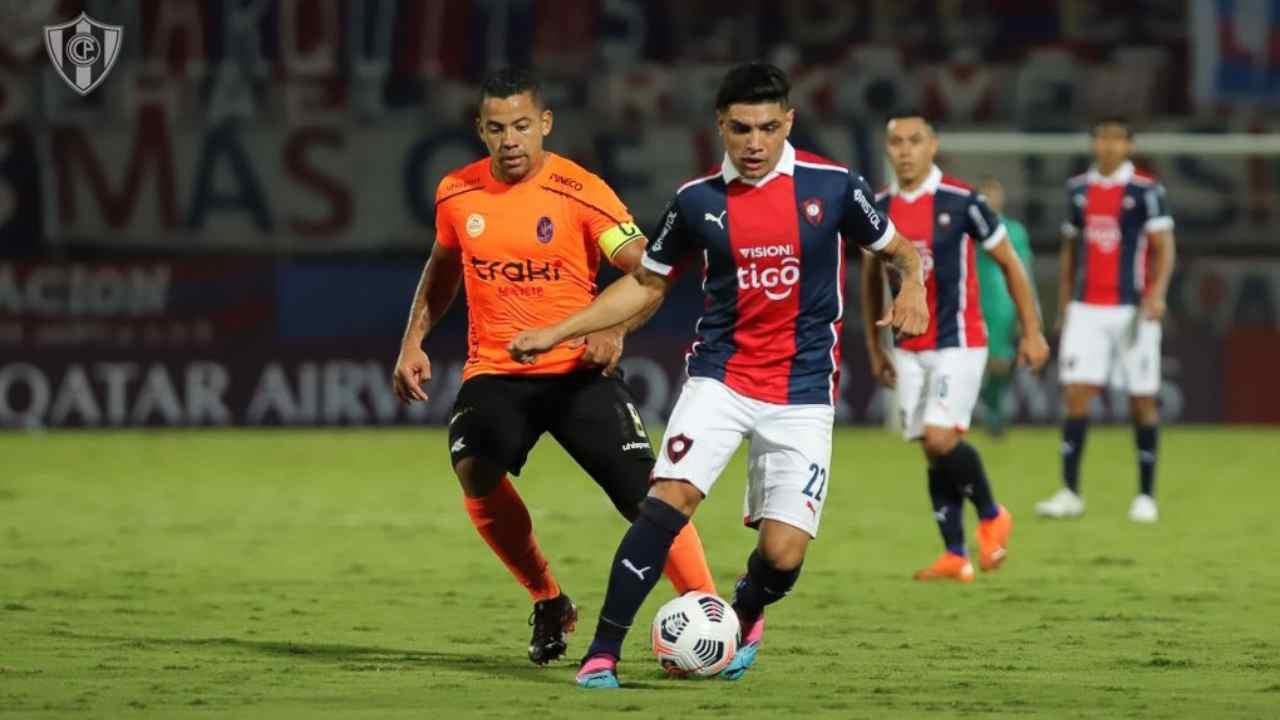 Deportivo La Guaira también le sacó el empate a Cerro Porteño