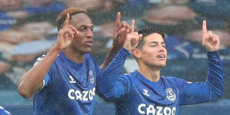 El Everton de James Y Mina también rechazan la creación de la Superliga europea