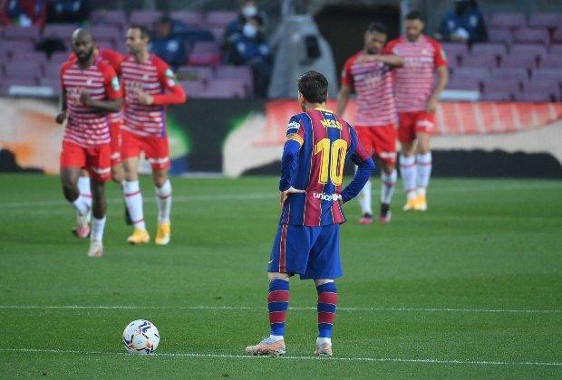 El colombiano Luis Suárez, protagonista en el histórico triunfo del Granda sobre Barcelona