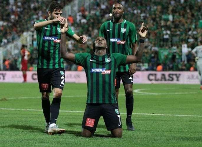 El golazo de Hugo Rodallega en la Liga de Turquía