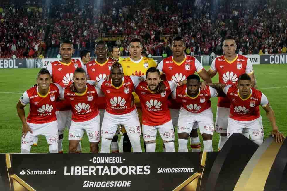 Esta será el duro calendario de Santa Fe en la Copa Libertadores
