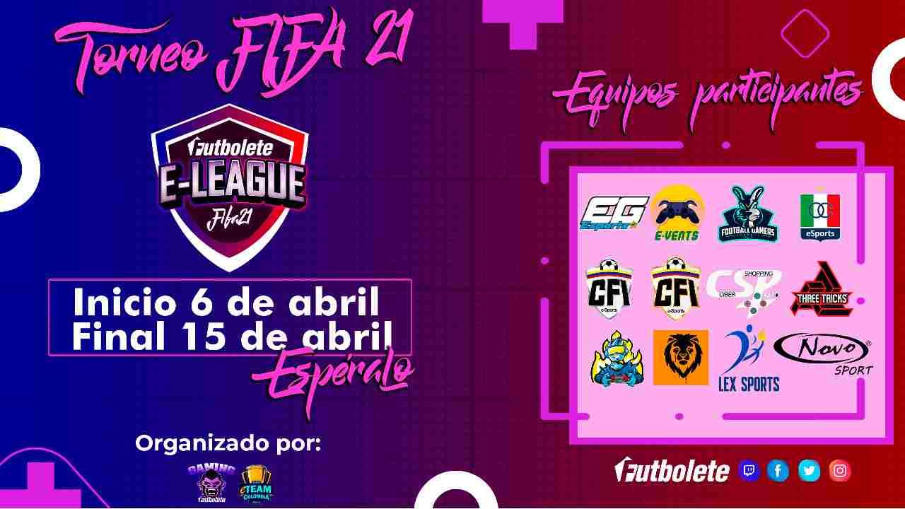 Este martes incia la eFUTBOLETE League con jugadores y equipos profesionales de Colombia