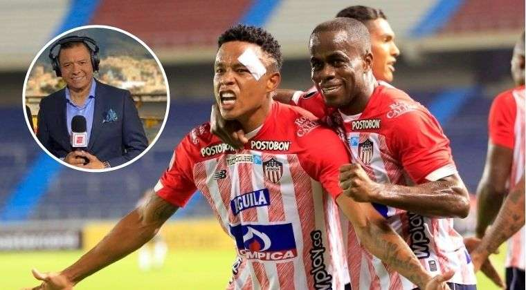 "Fuerte crítica de Valenciano por clasificación de Junior en Libertadores: ""No juega a nada"""