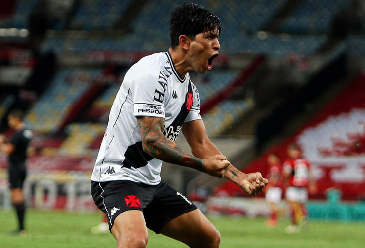 Germán Cano, Vasco da Gama, Flamengo, Campeonato Carioca 2021, Deportivo Independiente Medellín, DIM, ex-Medellín, ex-DIM