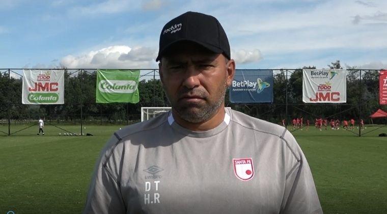 Harold Rivera confirmó nómina alterna ante La Equidad y la lesión de tres jugadores importantes
