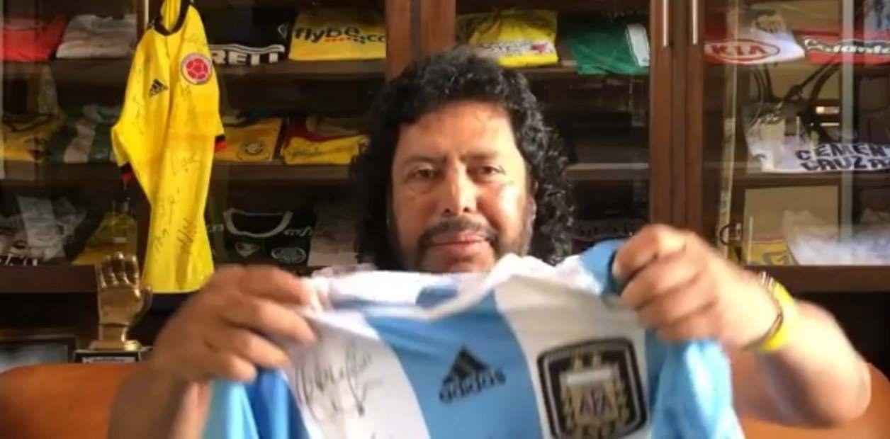 ¡Higuita quiere la Copa América Diego Maradona!