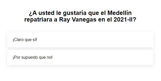 Hinchas del DIM: ¿Ray Vanegas sí o Ray Vanegas no?