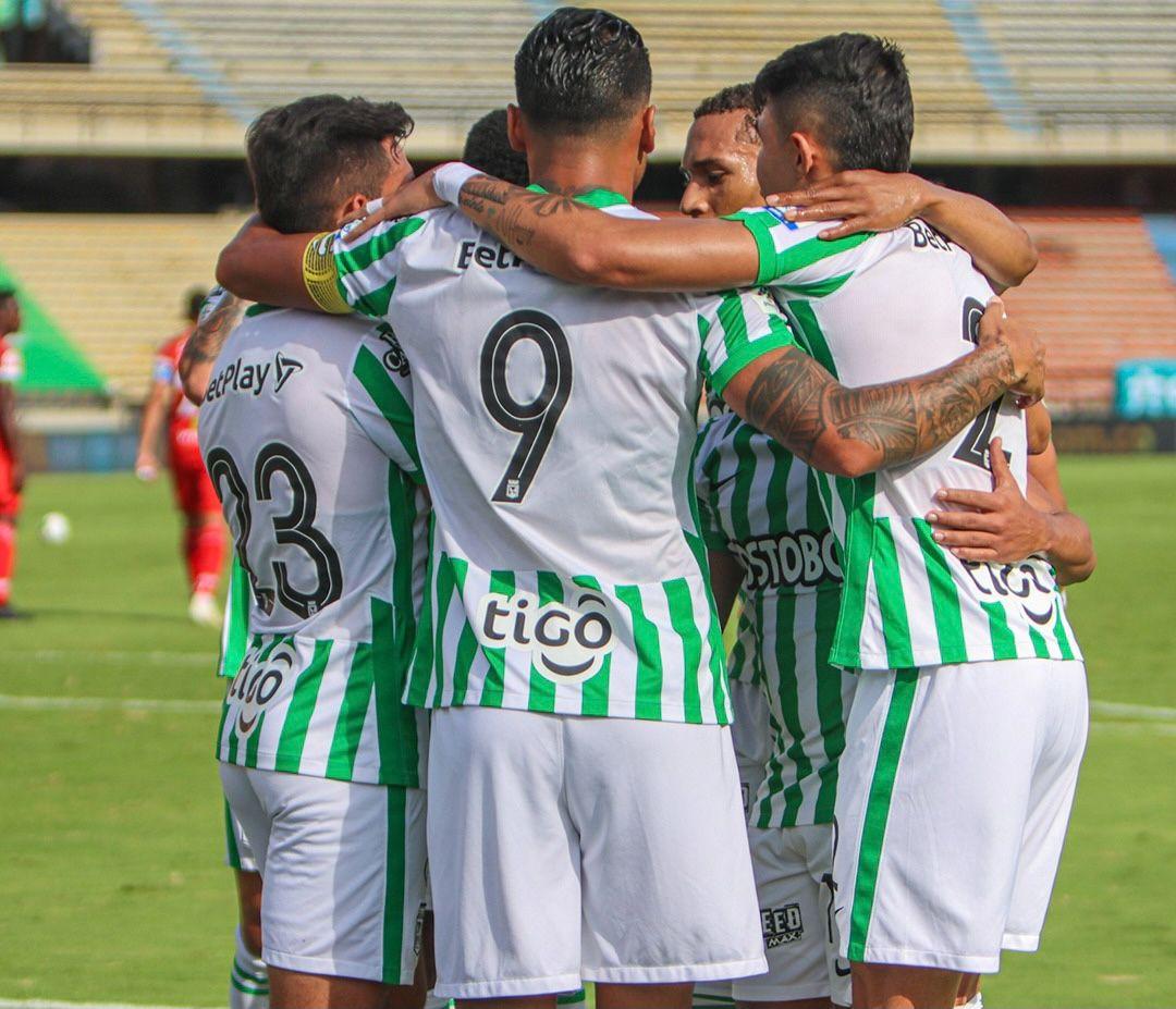 El dato que alegra a Atlético Nacional en la Liga BetPlay 2021-I