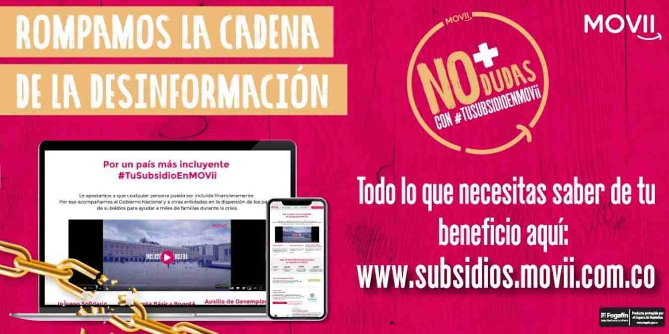 Ingreso Solidario: Vea la fecha de pago en abril por MOVii