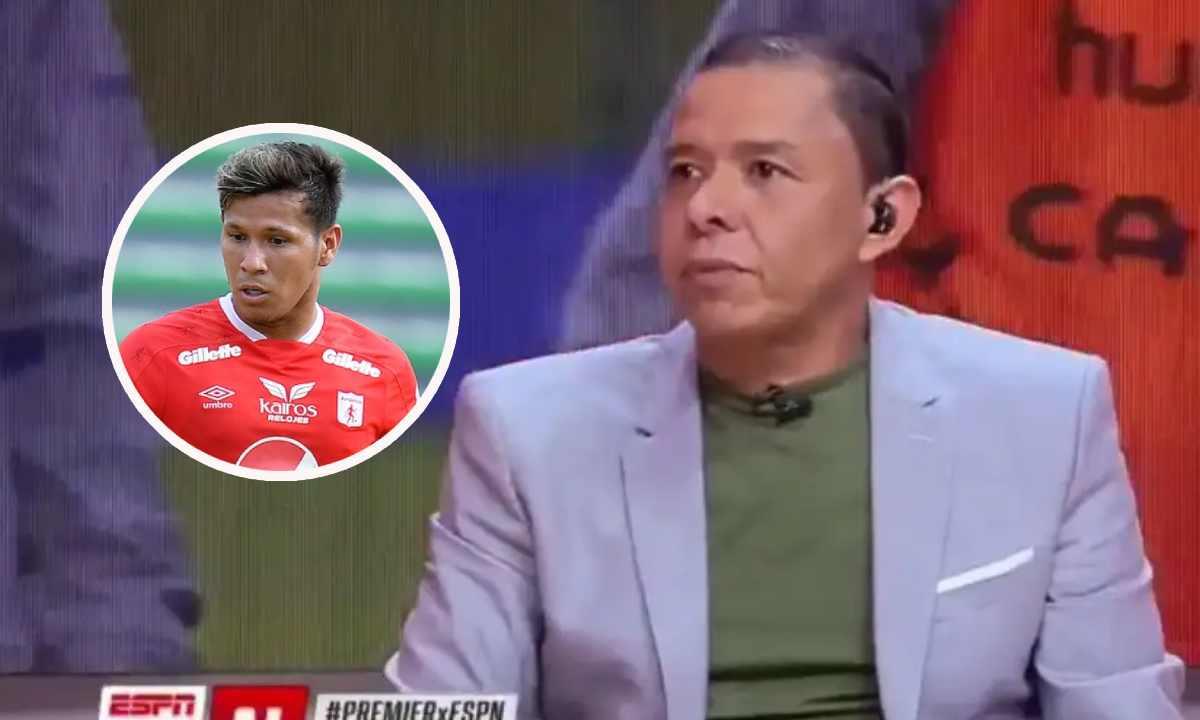 Iván René Valenciano y la dura crítica a Rafael Carrascal