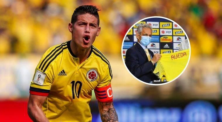 James Rodríguez: La llegada de Reinaldo Rueda y el anhelo de ganar algo con la Selección Colombia