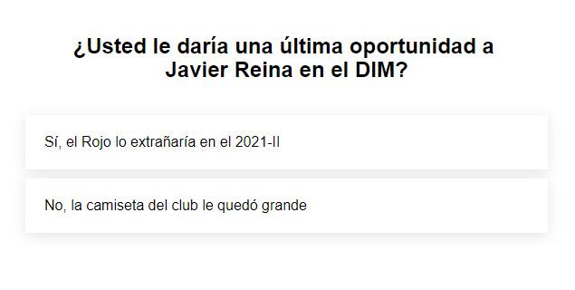 ¿Que Javier Reina siga en Medellín o que el DT Hernán Darío 'Bolillo' Gómez pida la contratación de un nuevo volante de creación?