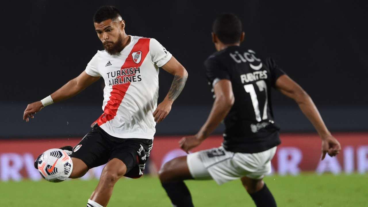Junior aguantó lo que pudo River Plate abrió el marcador en el Monumental